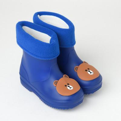 Dečije postavljene gumene čizmice RJ011A-RJ012A tamno plave