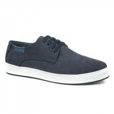 Kožne muške cipele/patike 5293 teget