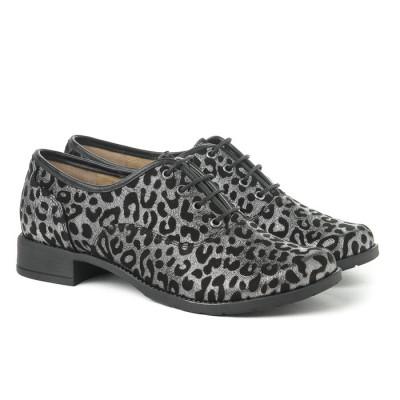 Kožne ženske cipele A13-37/ 12 crne