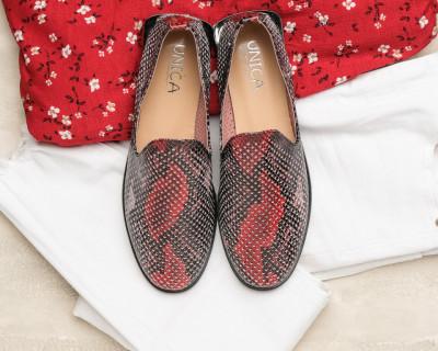 Kožne ženske cipele A5071/290