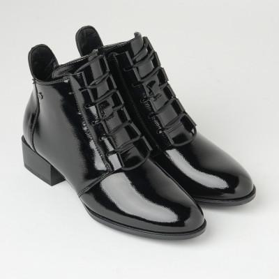 Lakovane poluduboke cipele C2275 crne
