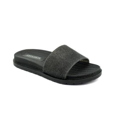 Ravne papuče LP021028 crne