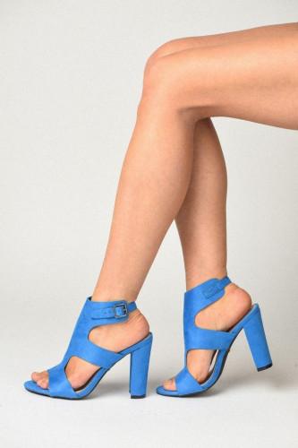 Sandale na štiklu LS241903 roze