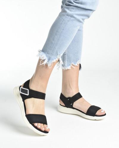 Udobne sportske sandale S482 crne