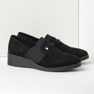 Ženske cipele/mokasine C2109 crne