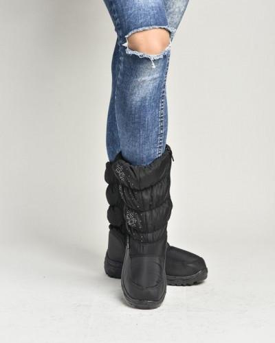 Ženske čizme za sneg LX96302 crne