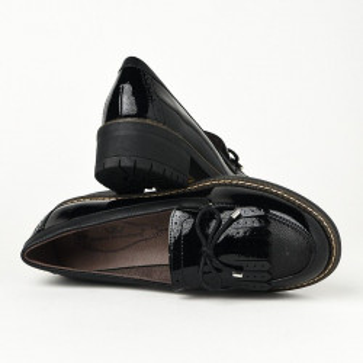 Ženske lakovane cipele C1838 crne