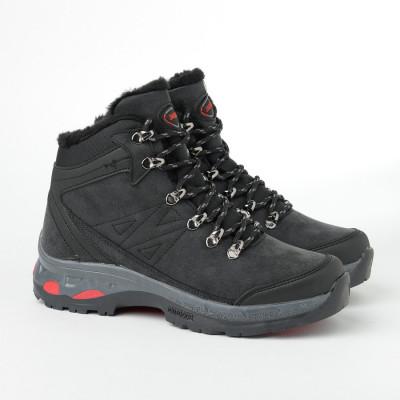 Zimske duboke cipele / patike 10-4076 crne (brojevi od 36 do 44)