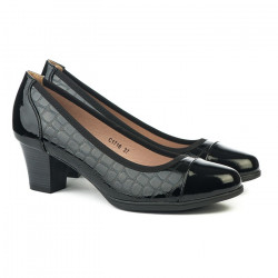 Cipele na štiklu C1716 crne