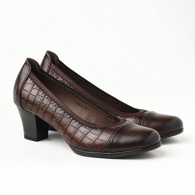 Cipele na štiklu C4818 braon