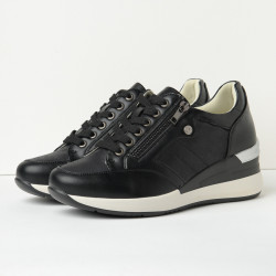 Cipele/patike na debelom đonu P1904 crne