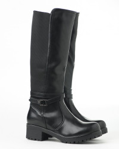 Duboke ženske čizme LX131909 crne