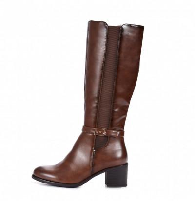 Duboke ženske čizme LX601927 braon