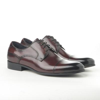 Kožne muške cipele 362-047 boja vina