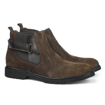 Kožne muške cipele 5697 braon