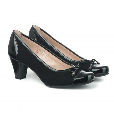 Kožne ženske cipele 2985 crne