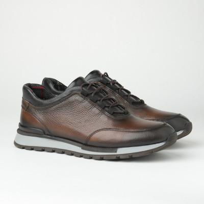 Muške kožne patike/cipele F6827/1359 braon