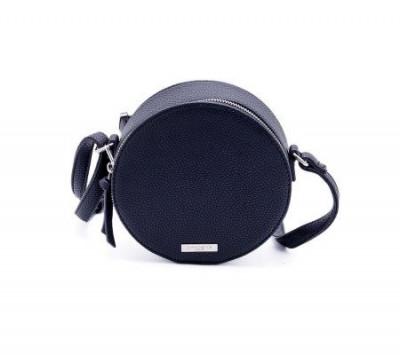 Okrugla torbica T021701 crna