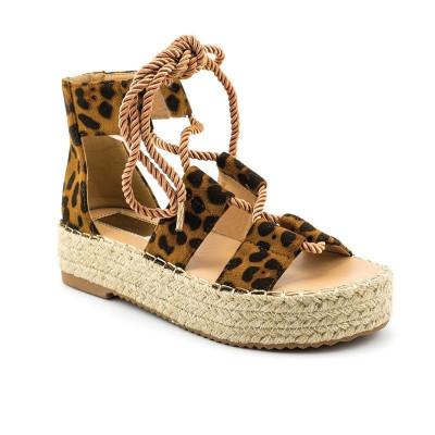 Sandale na debelom djonu LS91302 leopard
