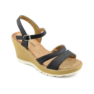 Sandale na ortoped petu LS020341 crne