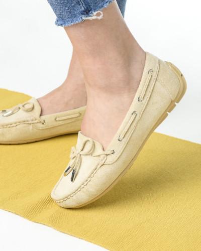 Ženske cipele / mokasine L020563 bež