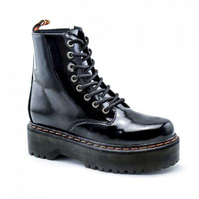 Ženske poluduboke čizme LH095751 crne