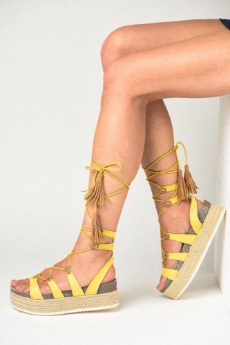 Ženske sandale LS791901 žute