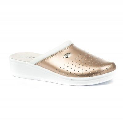 Anatomske papuče MEDICAL 100 zlatne