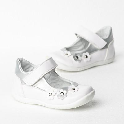 Dečije cipele sa anatomskim uloškom 1025/1 bele