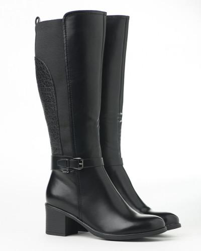 Duboke ženske čizme LX601926 crne