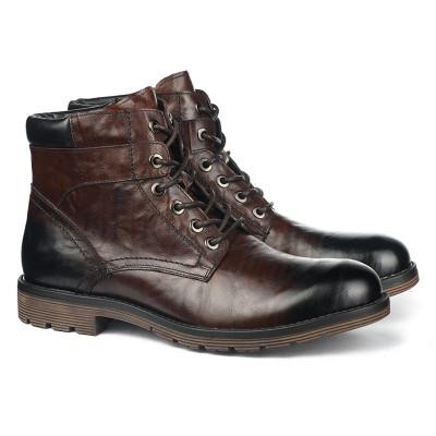 Kožne duboke cipele za muškarce GH151-1-C573 braon