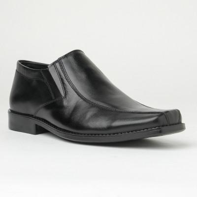 Muške kožne cipele 3629-01 crne