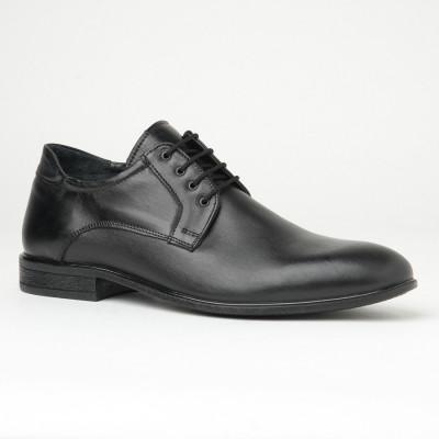 Muške kožne cipele 4277-01 crne
