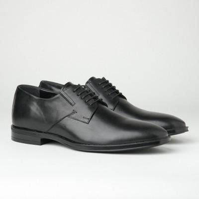 Muške kožne cipele B900/512 crne