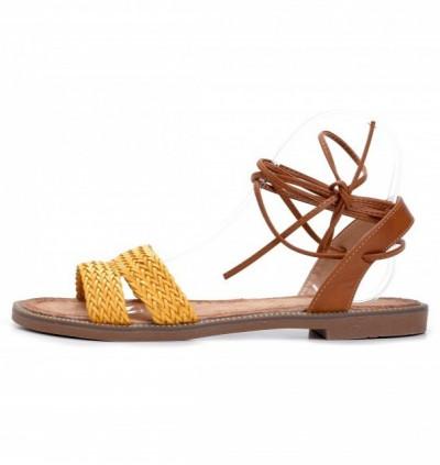 Ravne sandale LS271904 žute