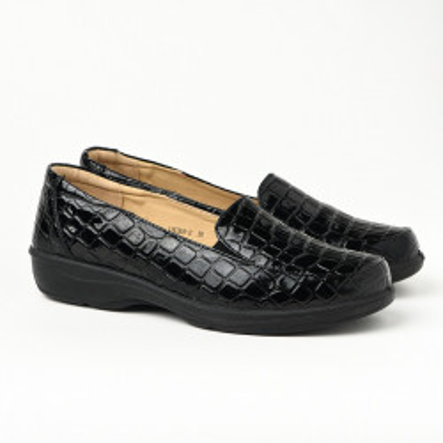 Ženske cipele / mokasine L80368-2 crne