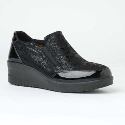 Ženske cipele na ortoped peti L061056 crne