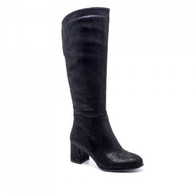 Ženske duboke čizme LX051056 crne