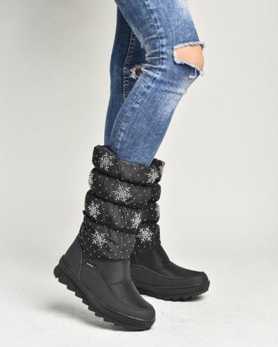 Ženske nepromočive čizme LH95150 crne