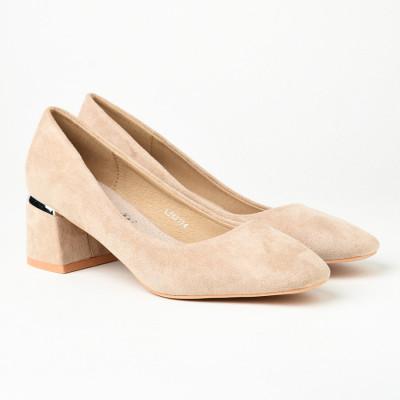 Cipele na malu štiklu L242124 bež