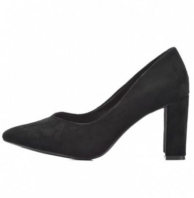 Cipele na štiklu L241929 crne