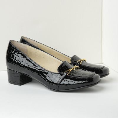 Cipele sa kožnom postavom B4 crne