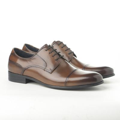 Kožne muške cipele 362-047 kamel