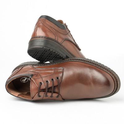 Kožne muške cipele Gazela 886-06 braon