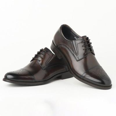 Kožne muške cipele KT853-16E237 braon