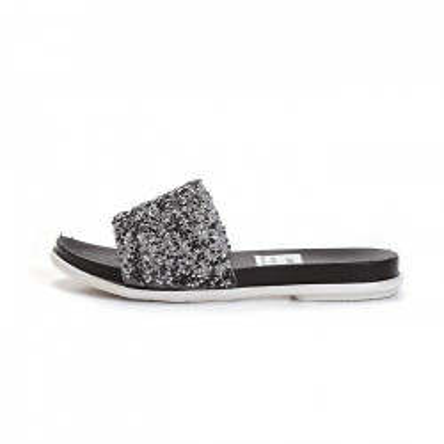 Ravne papuče LP80801 crne