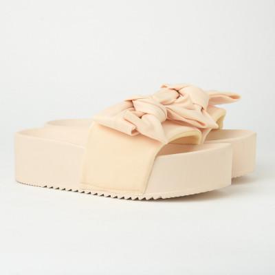 Ravne papuče na debelom đonu LP802104 bež