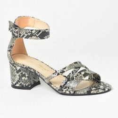 Sandale na štiklu 505 zmija