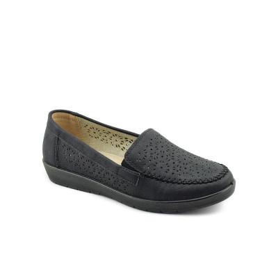Ženske cipele / mokasine L020813 crne