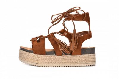 Ženske sandale na debelom djonu LS792104 kamel